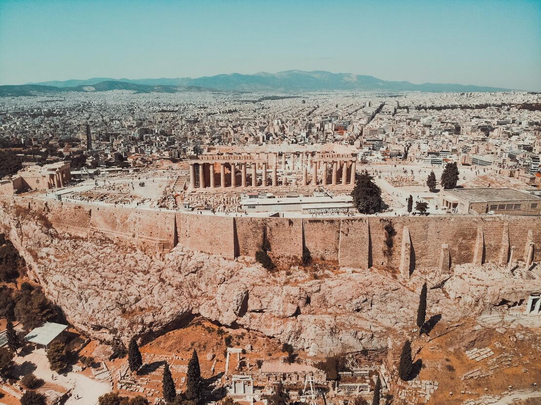 Acropolis by day